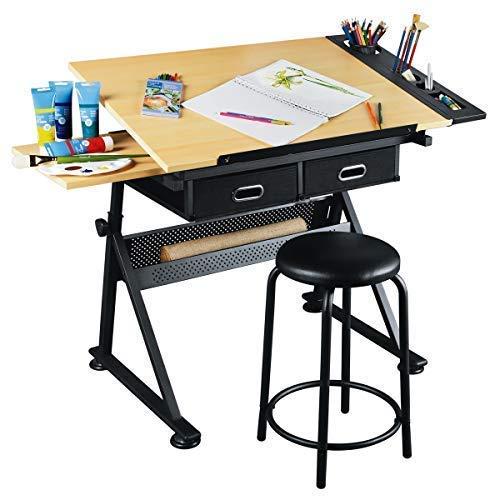 Artist's Loft Arts, and Crafts Creative Center – Art Desk and Craft Center with Storage