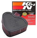 K&N Engine Air Filter: High Performance, Premium, Powersport Air Filter: Fits 2003-2009 HONDA (VTX1300C, VTX1300R, VTX1300T, VTX1300S) HA-1330