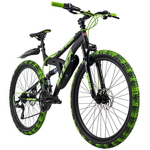 KS Cycling Mountainbike Fully 26'' Bliss Pro schwarz-grün RH 46 cm