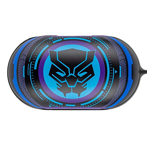 Colourful Case Cover for Samsung Galaxy Buds/Buds+ Plus with Avengers Character (Black Panther)