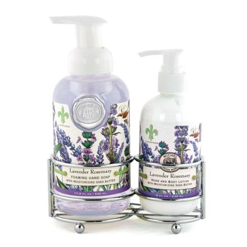 Michel Design Works Handcare Caddy, Lavender Rosemary