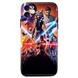 OptiCase iPhone 11 case,Star Wars Soft Slim Flexible TPU Cover with Full HD+Graphics for iPhone 11(6.1) (Star1)
