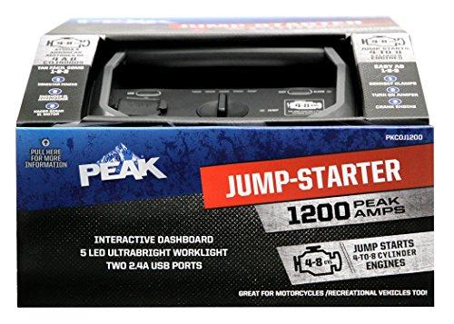 New Peak PKC0J1200 1200 Amp. Jump Starter