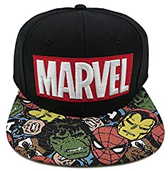 35 Amazing Marvel Gift Ideas featured by top US Disney blogger, Marcie and the Mouse: Marvel baseball cap