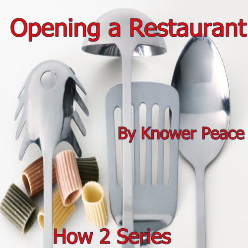Opening a Restaurant audiobook cover art