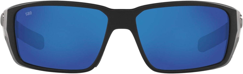 Costa Del Mar Men's 6s9079 Fantail Pro Rectangular Sunglasses