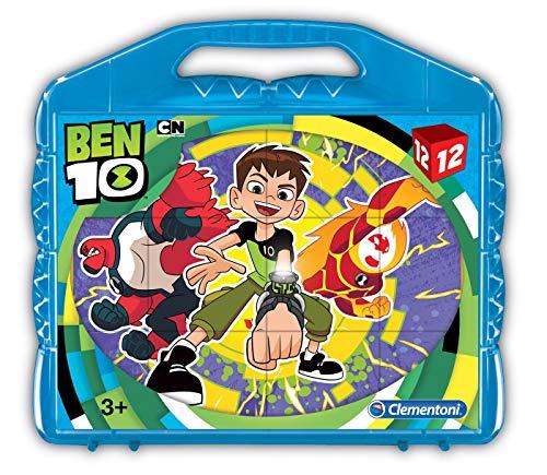 41188Ben 10–Baby Puzzle Cubo, 12piezas , color/modelo surtido