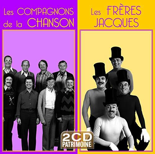 Les Compagnons de la Chanson/Les Frères Jacques (2cd Patrimoine)