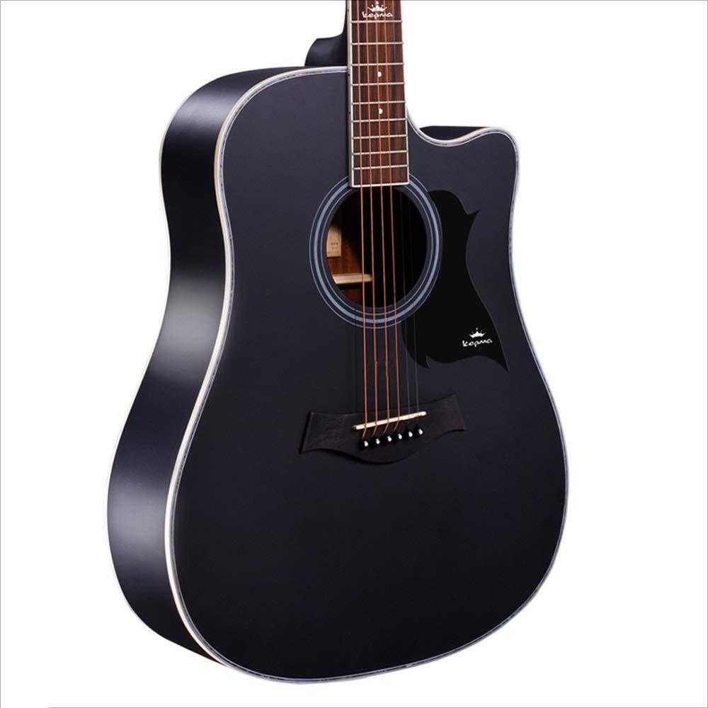 Aigliady Práctica para principiantes de 41 pulgadas Adolescentes masculinos y femeninos Guitarra de madera Guitarra acústica minimalista con estuche para guitarra Correa para el hombro Cuerda: Amazon.es: Instrumentos musicales