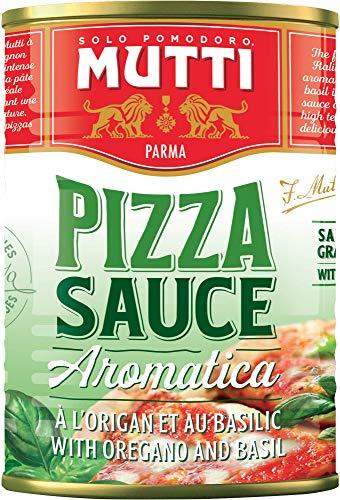 Mutti Pizza Sauce, gewürzt , 4er Pack (4 x 400 g)