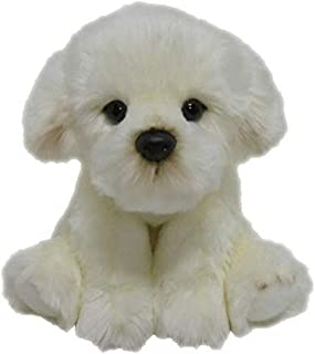 Elka Australia 2-178007 Bichon Bonnie Dog Soft Plush Toy, 30 Centimeters