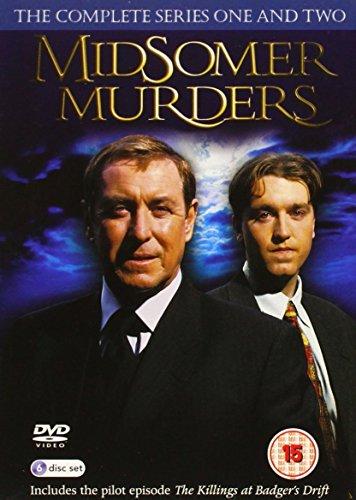 Midsomer Murders: The Complete Series One And Two [Edizione: Regno Unito] [Reino Unido] [DVD]