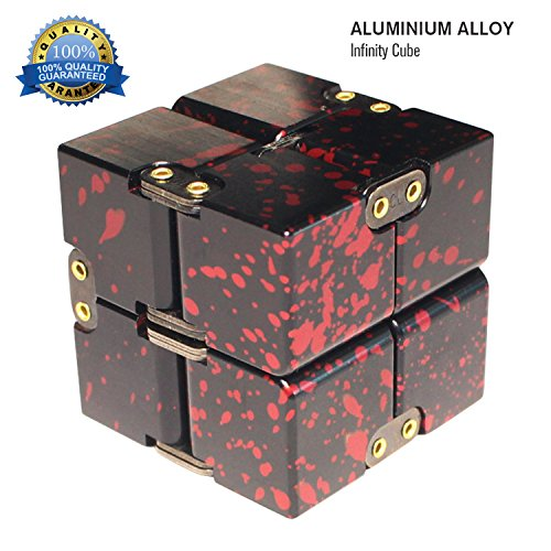 Zoejoy Camouflage Infinity Cube Aluminum Alloy Fidget Cubes for ADD, ADHD, Anxiety, Austism Adults & Kids