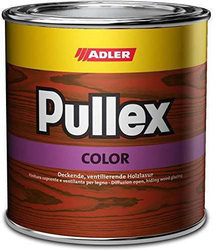 Adler Pullex Color Universelle Holzlasur außen Farbwahl 0,75 L, Farbe:Grün