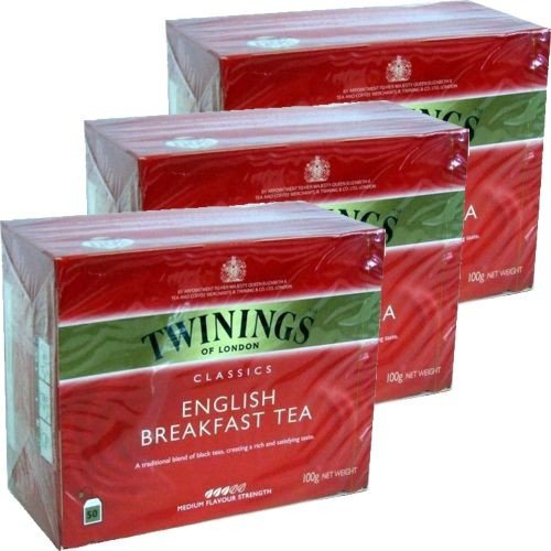 Twinings Teebeutel English Breakfast Tea 3 x 50 Btl.