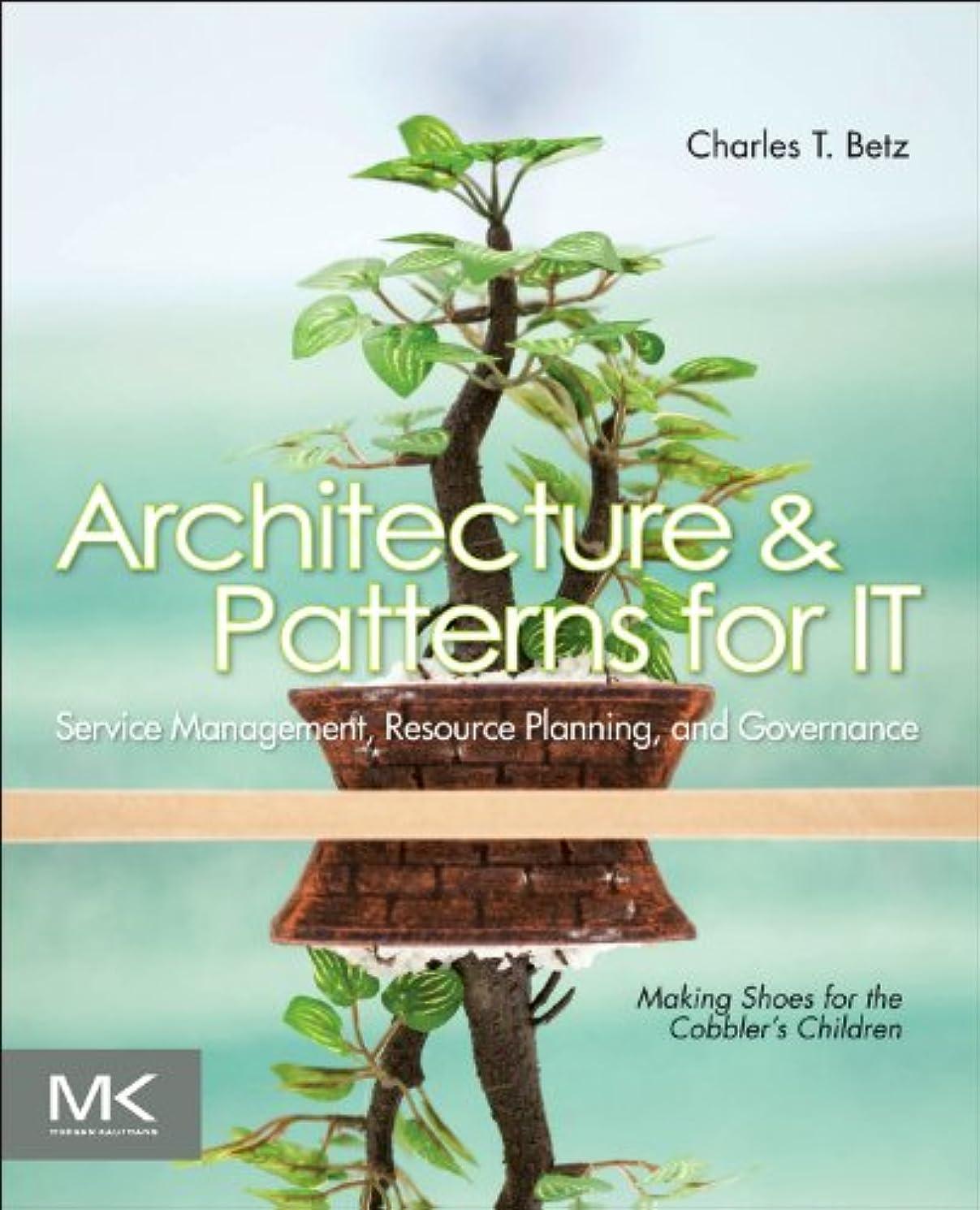 旋律的解放する並外れてArchitecture and Patterns for IT Service Management, Resource Planning, and Governance, Second Edition: Making Shoes for the Cobbler's Children
