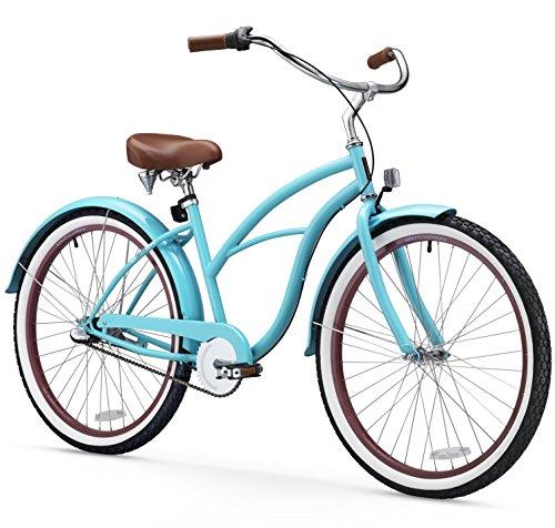 sixthreezero Women's 3-Speed 26-Inch Beach Cruiser Bicycle,...