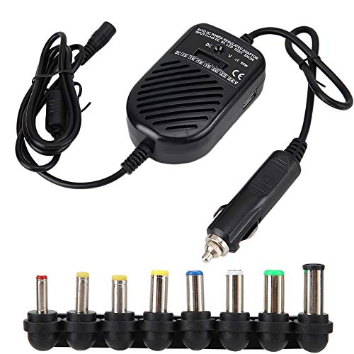 Velaurs Charger, 15-24V Laptop Power Supply, USB Adjustable 80W High Efficiency for Tablets Laptop