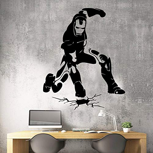 yaonuli Abnehmbare dekorative Aufkleber für Männer wasserdichte Wohnzimmer Schlafzimmer Dekoration Aufkleber 28X28cm