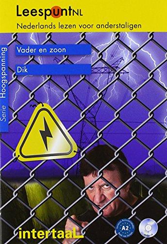 LeespuntNL - Serie Amsteldijk A2. Vadder en zoon/Dik: Lesebuch mit beiliegender CD