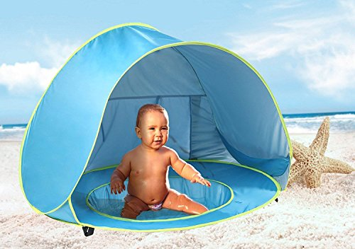 Product Image of the Monobeach Baby Beach Tent Pop Up Portable Shade Pool UV Protection Sun Shelter...