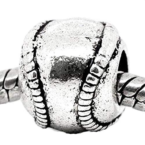 Sexy Sparkles Damen-Charm Baseball für Schlange Kette Armband