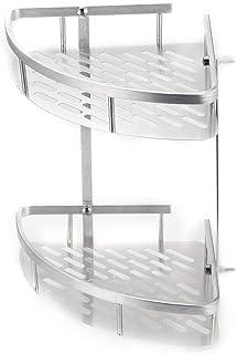 Support de rangement en aluminium Organisateur Tablette de douche Panier Salle de bain Porte-shampooing Rangement Cuisine ...