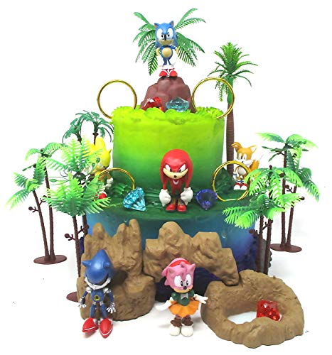 SONIC and Friends Deluxe Birthday Cake...