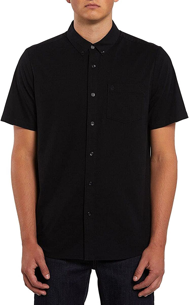 Volcom Men's Everett Shipping included Popular shop is the lowest price challenge Oxford Sleeve Shirt Short
