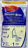 Royal Type J Bags 7 Pack Generic