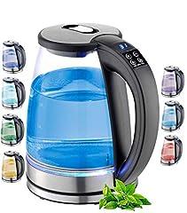 Glas 1,8 Liter 2200 Watt