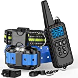 Ace Teah Dog Shock Collar with Remote, Dog Training Collar for Large Dogs,Waterproof