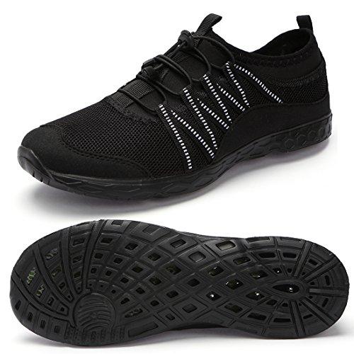 Aqua Water Shoes Men Barefoot Quick-Dry Waterproof Lightweight for Swim Surf Yoga...