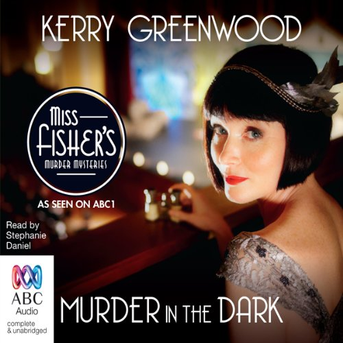 Murder in the Dark audiobook cover art