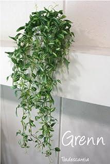 グリーン トラディスカンティア スクエア鉢 垂下 造花 観葉植物 ミニ フェイクグリーン 消臭 光触媒 CT触媒 人工 リアル おしゃれ 室内 ギフト