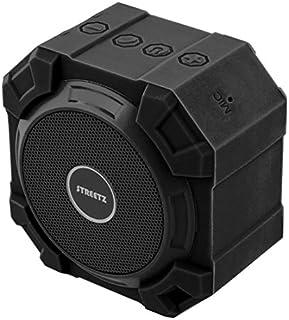 STREETZ V2.1 + EDR 5 W IPX5 vattentät Bluetooth-högtalare – svart