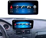 Road Top Android 10 Car Stereo Pantalla táctil de 10.25 Pulgadas para Mercedes Benz Clase C W204 C200, C230, C250, C300, C280 2008 a 2010 años, Compatible con Pantalla Dividida Carplay inalámbrica de