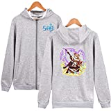 UBUB Anime Sword Art Online Sao der Infinity Hoodie Frühling und Herbst Lose Männer und Frauen mit Kapuze Sweatshirt Lässiger Punk Street Style Trainingsanzug