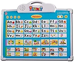 EMONO Musical Board for Alphabet ABC Learning Toy Play Mat & Drawing with One Doodle Pen (Multicolour)