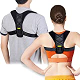 Posture Corrector Support Brace for Women & Men by Babo Care, Figure 8 Shaped Designed for Your Upper Back, Helps to Improve Posture, Prevent Slouching