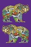 Toland Home Garden Animal Spirits Grizzly Bear 12.5 x 18 Inch Decorative Native Spiritual Outdoors Forest Garden Flag