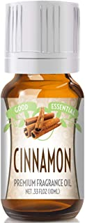 Cinnamon Scented Oil by Good Essential (Premium Grade Fragrance Oil) - Perfect for Aromatherapy, Soaps, Candles, Slime, Lo...