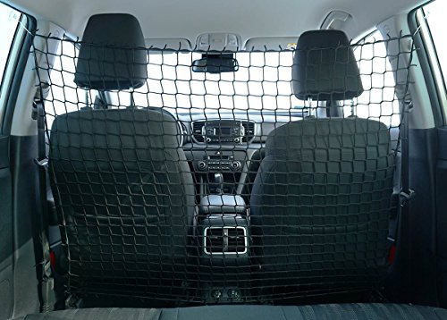Ferocity Universaler Auto Netz Haustier Barrier Sicherheitsnetz Rücksitz Barriere Trennnetz 100x120 cm [058]