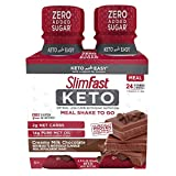 SlimFast Keto Chocolate Shake - Ready to Drink Meal Replacement, (Each 4 Count of 11 Fl Oz Bottles) 44 Fl Oz from AmazonUs/SLIY7