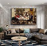 N/S Filmplakat The Big Bang Theory Wandkunst Malerei