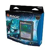 Magic The Gathering Kaldheim Commander Deck – Phantom Premonition   100 Card Ready-to-Play Deck   Blue-White