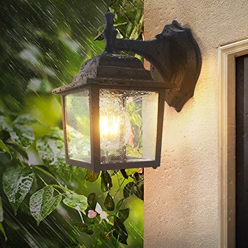 Dusk to Dawn Sensor Outdoor Wall Lights