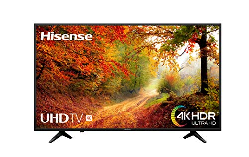Hisense H65A6140 - TV Hisense 65' 4K Ultra HD, HDR, Precision Color, Super Contraste, Remote now, Smart TV VIDAA U, Diseño...