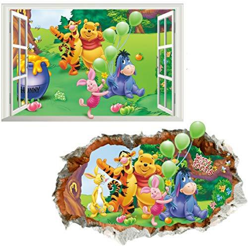 Kibi 2PCS Disney Winnie Puuh