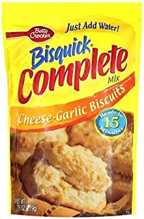 Betty Crocker, Bisquick, Complete Mix, Cheese Garlic, 7.75-Ounce Pouch (Pack of 6)